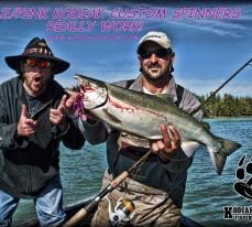 Kenai Coho Salmon Spinners