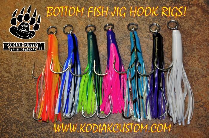 Lingcod tackle halibut gear rockfish jigs california for Bottom fishing rods