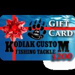 KodiakCustomGiftCard200