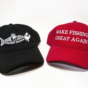 Kodiak Custom and Make Fishing Great Again Hats